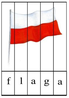 Learn Polish, Teaching English, Kids And Parenting, Poland, Kindergarten, Crafts For Kids, Projects To Try, Puzzle, Techno