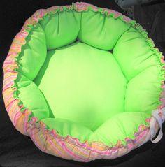 cute dog bed  A Healthy Dog is a Happy Dog / www.PetWellbeing.org