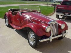 1954 MG TF1500 the special breed!