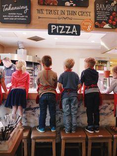 Mamablogger & Kids Event / Pizzabacken / Kinderpizza / Vapiano http://www.lulusstern.com/2016/08/Mamablogger-Event-Vapiano.html