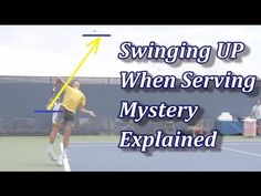 The Swinging Up On The Serve Mystery Explained Milos Raonic, Tennis Serve, Tennis Workout, Tennis Elbow, Tennis Tips, Tennis Players, Mystery, Drills, Feelings