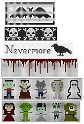 Ravelry: Ghoulishly Gruesome Graphs pattern by Liz Lindo