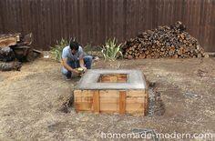 HomeMade Modern DIY EP41 Concrete Fire Pit Step 18