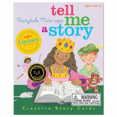 Amazon.com : Tell Me A Story - Fairy Tale Mix-Up : Memory Games : Toys & Games