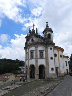 Igreja do Rosário Aleijadinho Ouro Preto MG