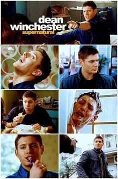 """Dean Winchester #Supernatural. Season 4, """"Mystery Spot"""""""