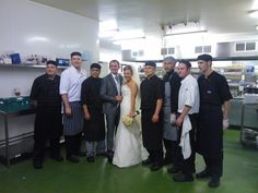 Meeting the Kitchen staff