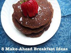 8 make-ahead breakfast recipes.