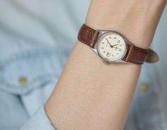 Mint condition women's watch Dawn wristwatch feminine by SovietEra, $82.00