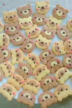 Teddy Bear Cookies