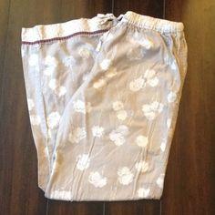 Victoria's Secret Dandelion Pajama Pants Very cute pajama pants with dandelion design! Good condition. Victoria's Secret Intimates & Sleepwear Pajamas