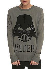 HOTTOPIC.COM - Star Wars Darth Vader Pullover Sweater