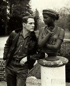 Paul Newman. 1950's