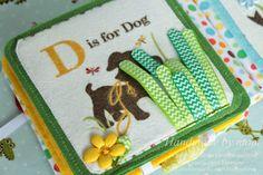 Handmade by mom: Развивающая книжка-малышка, для деток до года и постарше...)