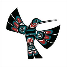 Northwest Native American Design Pacific Nothwest Coast Tattoo