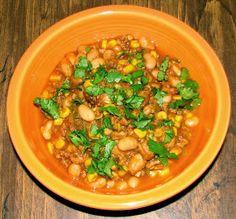 Shel's Kitchen: Turkey, Pumpkin and White Bean Chili