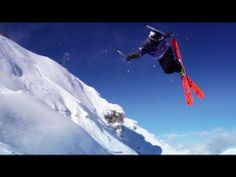 Freeskiing Contest in France - Red Bull Linecatcher 2013