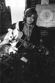"""nobouchan: """"Brian Jones, At Keith Richards' home Redlands """""""