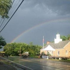 Rainbow in Newfields NH