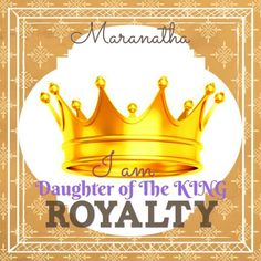 A PRIVILEGE OF BEING A ROYALTY ! Heaven is a heartbeat away, Smile and be at comfort O Bride Of Christ, you are a ROYALTY OF THE KINGDOM OF GOD, You have been chosen, you have been tried, you have been purified, So HOLD ON #WiseVirgins and do not loose heart, Your KING IS COMING TO BRING YOU HOME.. #MARANATHA #RAPTURE is IMMINENT ! 2 Thessalonians 1:5 (KJV) Which is a manifest token of the righteous judgment of God, that ye may be counted worthy of the kingdom of God, for which ye also…