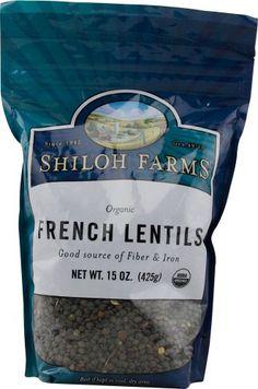 Shiloh Farms: French Lentils 15 Oz (6 Pack) Shiloh Farms http://www.amazon.com/dp/B00JGZP5BY/ref=cm_sw_r_pi_dp_ANUeub0GPKEBF