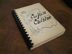 Cajun Cuisine Cookbook Favorite CAJUN Recipes by collectiblesatoz