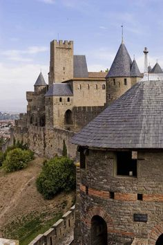 Carcassonne. A beautiful walled city but unfortunately ruined by mass tourism.