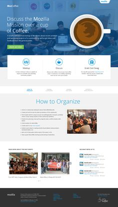 Mozcoffee landing page