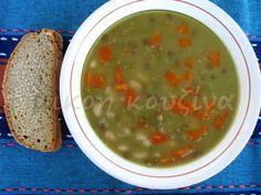 μικρή κουζίνα: Σούπα πολυσπόρια (μπουρμπουρέλια, πανσπερμία) Palak Paneer, Ethnic Recipes, Blog