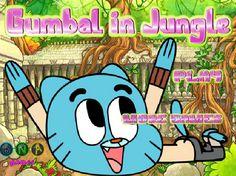 لعبة غامبول في الغابة لعبة حلوة من العاب اطفال  Kids Games الرائعة جداً علي العاب فلاش ميزو