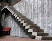 gepolierde betontrap