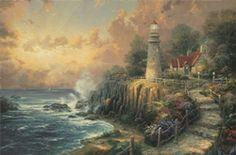 The Light Of Peace - Thomas Kinkade