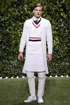 Moncler Gamme Bleu Menswear Spring Summer 2014 Milan via http://nwf.sh/17w751N