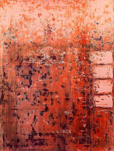 ^Christian Hetzel Portal Art, Modern Art, Contemporary Art, Orange Art, Funky Art, Encaustic Art, Different Kinds Of Art, Texture Art, Beautiful Paintings