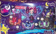 Littlest Pet Shop LPS Moonlight Fairies Twinkling Friends 2819-2823 Exclusive