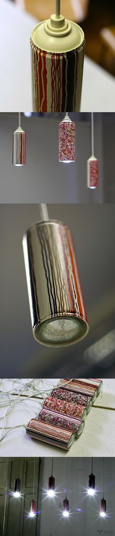 #Cans, #Lamps, #Lights, #Recycled