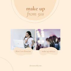 #makeup #makeupover50 #makeuptips #womenmakeup Cool Things To Make, Make Up, Good Things, Auto Follower, Makeup Over 50, Spin, Makeup Tips, Skin Care, Blog