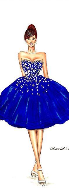 Fashion Illustration by David Mandeiro Fashion Illustrations, Fashion Sketches, Something New, Fashion Art, Fashion Design, Hana, My Outfit, Most Beautiful, Engagement