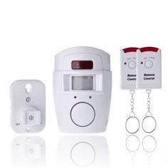 120dB Télécommande sans fil porte d/'entrée magnétique alarme Sonnette de Porte B8 Maison Boutique