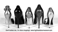 The High Heel Shoe Museum:  The High Heel Shoe Museum features many of the most beautiful exotic high heel shoes, extreme high heels, ultra high heel stiletto shoes, sandals, fetish shoes, spike heels, unique shoes, designer shoes, couture etc