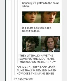 THEY HAVE THE SAME MOUTH OMG