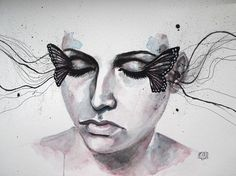 metamorfosi by ericadalmaso - Watercolor Paintings by Erica Dal Maso  <3 <3