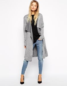 Enlarge ASOS Jersey Maxi Trench