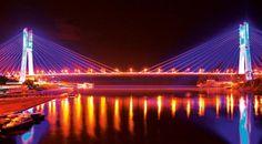 Majestuoso Río Napo Bridge