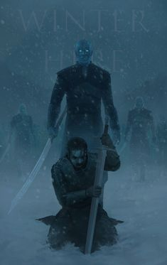 ArtStation - Winter Is Here, Theophilus Abdiel - Guerra dos tronos Arte Game Of Thrones, Game Of Thrones Sansa, Game Of Thrones Artwork, Game Of Thrones Poster, Game Of Thrones Costumes, Game Of Thrones Dragons, Game Of Thrones Quotes, Winter Is Here, Winter Is Coming