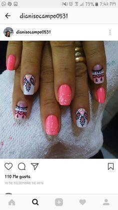 Beauty Nails, Hair Beauty, Love Nails, Nail Art Designs, Lily, Fairy, Enamels, Nails, Frases