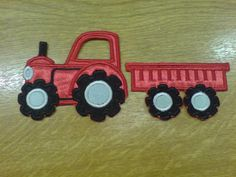 Tractor, agrimotor- machine fill stitch embroidery and applique designs - instant download, for hoop 4x4,5x7, 6x10