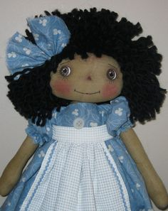 Thought I would do a raggedy ann doll hair tutorial.   First is the kind of yarn I use. Most of my Annie's hair is from spinayarn.com.  It ...