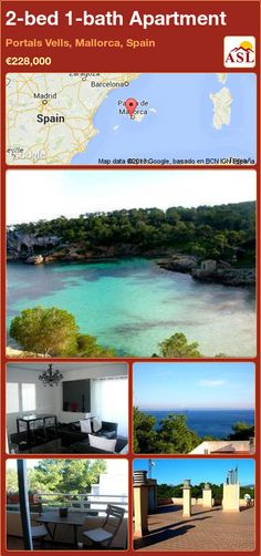 2-bed 1-bath Apartment in Portals Vells, Mallorca, Spain ►€228,000 #PropertyForSaleInSpain
