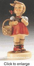 """Hummel figurine """"Little Shopper"""" HUM 96"""